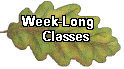 Week Long Classes